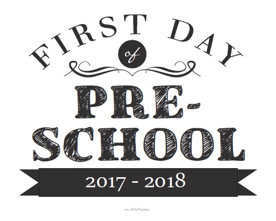 September 5th – First day of school